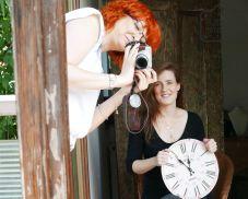 Moja niezawodna fotografka Justyna!
