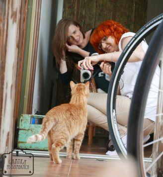 Nasz mistrz drugiego planu - kot Czedar :)